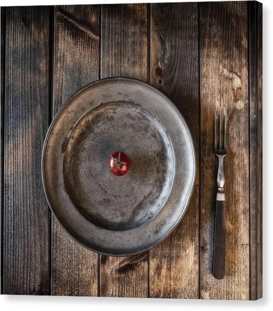 Cherry Tomato Canvas Print - Tomato by Joana Kruse