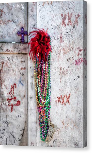 Tomb Of Marie Laveau New Orleans Canvas Print