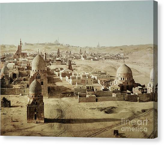 Aac Canvas Print - Tombs Of The Mamelukes, Cairo, Egypt by Getty Research Institute