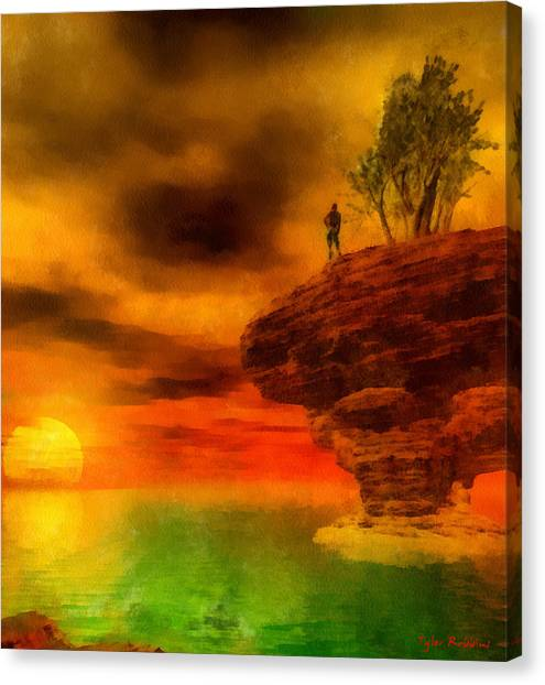 Tomorrow Is A New Day Canvas Print