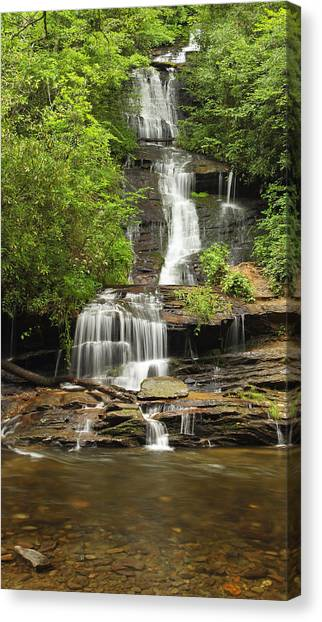 Toms Branch Falls Canvas Print