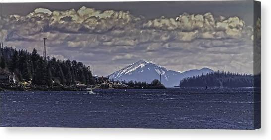 Tongass Narrows 012 Canvas Print