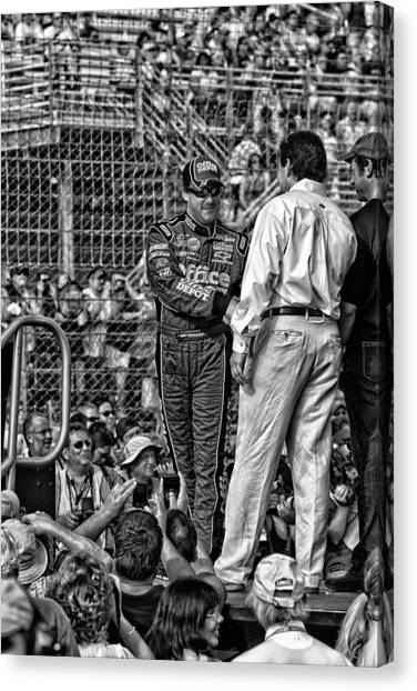 Tony Stewart Canvas Print - Tony Stewart Intro by Kevin Cable