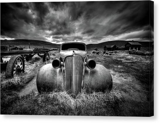 Old Trucks Canvas Print - Too Old To Drive by Carsten Schlipf