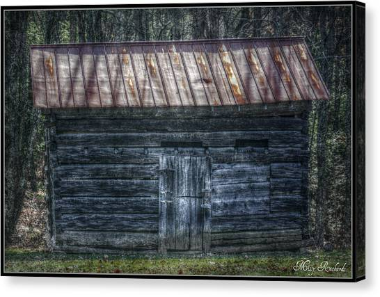 Tool Shed Canvas Print by Missy Richards