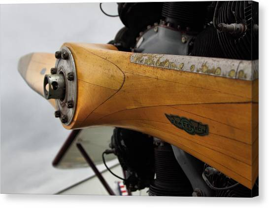 Prop Planes Canvas Print - Tools Of Flight by Linda Unger