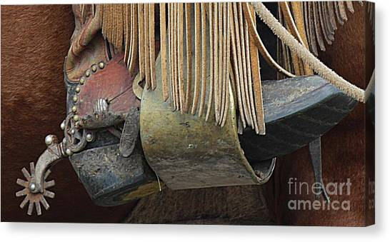 Canvas Print featuring the photograph Tools Of The Trade by Ann E Robson