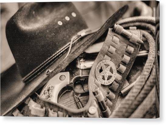 Lassos Canvas Print - Tools Of The Trade  by JC Findley