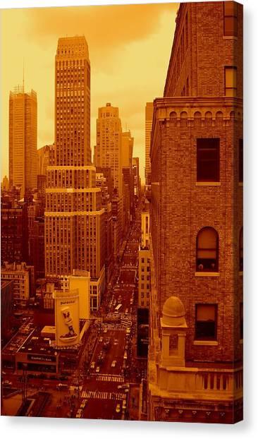 Top Of Manhattan Canvas Print