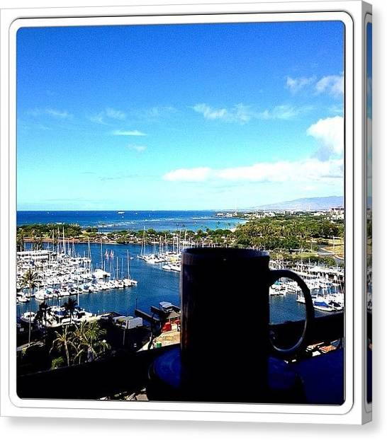 Tea Time Canvas Print - Top Of The Morning To You!#tea #time by Terra Chavez