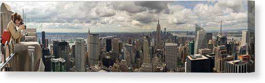 Top Of The Rock View Canvas Print
