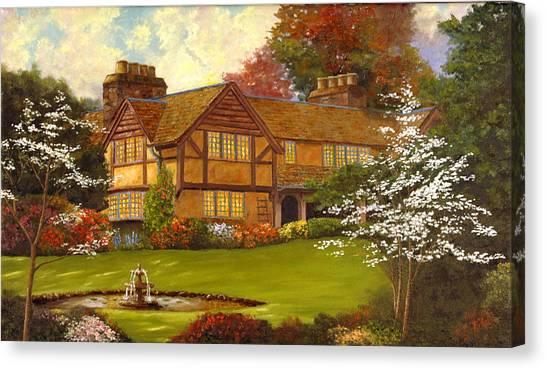 Topsmeade House Canvas Print