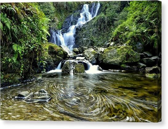 Torc Waterfall Canvas Print