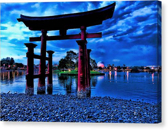 Torii Gate 2 Canvas Print