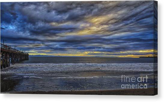 Ucsb Canvas Print - Tormented by Mitch Shindelbower
