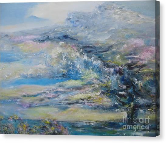 Tornado Over Lake Myra Canvas Print