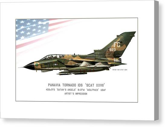 Iraq Canvas Print - Tornado Scat Xxii by Peter Van Stigt