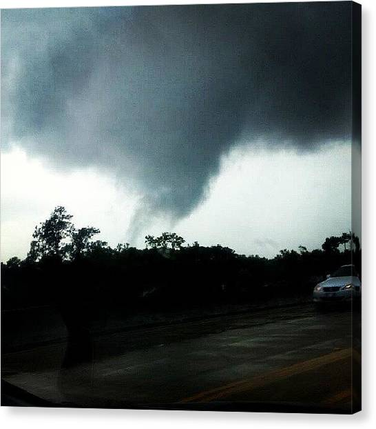 Tornadoes Canvas Print - #tornado #tornadoes #scary #dangerous by Keikei Kelly