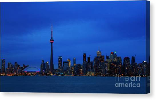 Toronto Blues... Canvas Print
