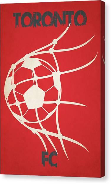 Toronto Fc Canvas Print - Toronto Fc Goal by Joe Hamilton