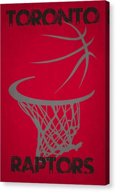 Toronto Raptors Canvas Print - Toronto Raptors Hoop by Joe Hamilton