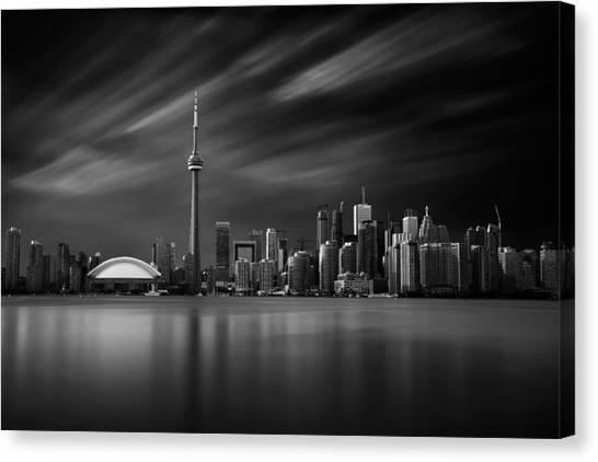 Toronto Skyline - 8 Minutes In Toronto Canvas Print