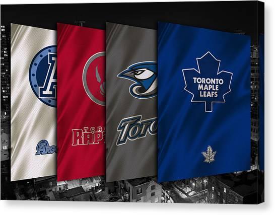 Toronto Maple Leafs Canvas Print - Toronto Sports Teams by Joe Hamilton