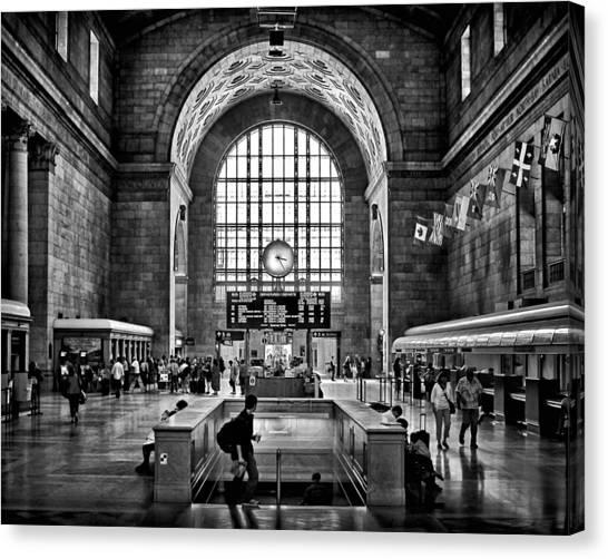 Toronto Union Station 323pm Canvas Print