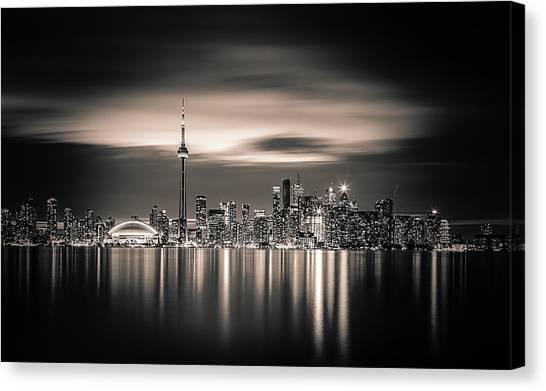 Toronto Skyline Canvas Print - Toronto by Yoann