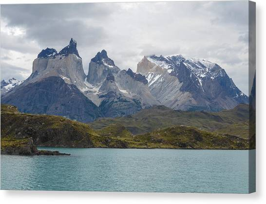 Torres Del Paine Canvas Print by Eric Dewar