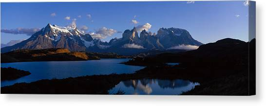 Mountainscape Canvas Print - Torres Del Paine, Patagonia, Chile by Panoramic Images