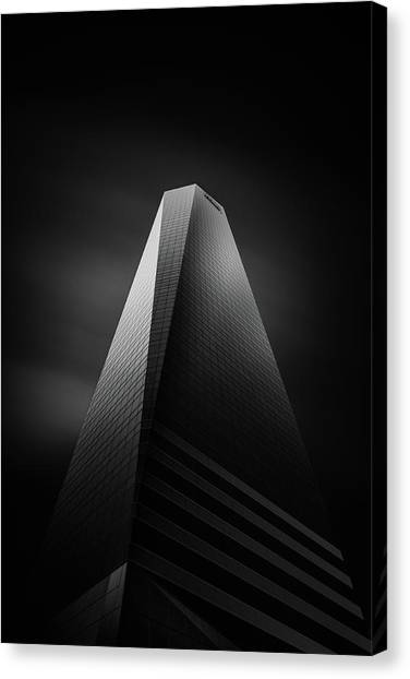 Tower Canvas Print - Torres Pwc by Mohammad Mirza