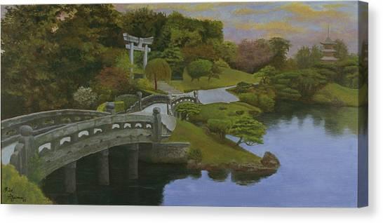 Torii Gate - Shinto Shrine Canvas Print
