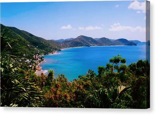Tortola Bay Canvas Print