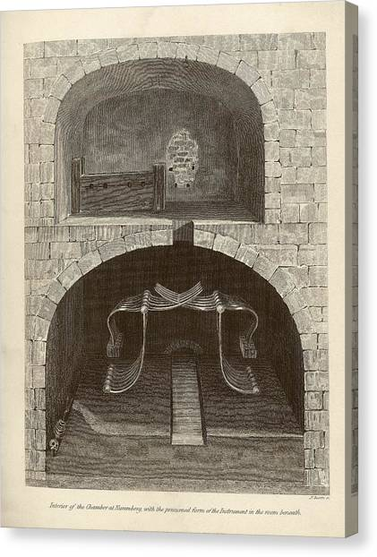 Torture Chambers Canvas Print by Middle Temple Library