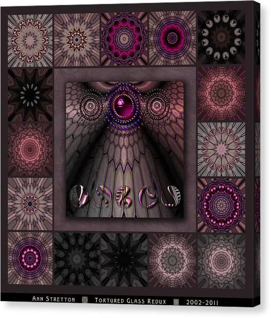 Tortured Glass Redux Canvas Print