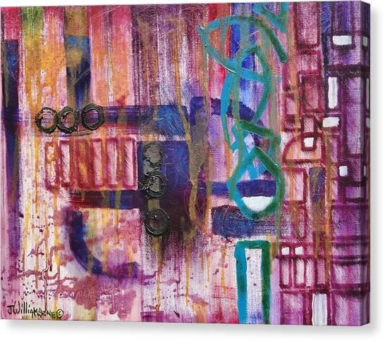 Tortured Links Canvas Print