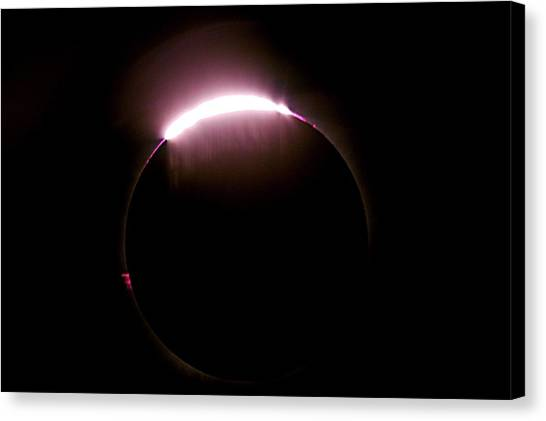 Total Solar Eclipse Canvas Print by Don Sabers/rev. Ronald Royer/science Photo Library