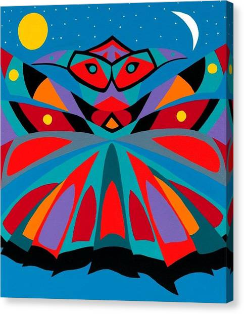 Canvas Print - Totem by Synthia SAINT JAMES