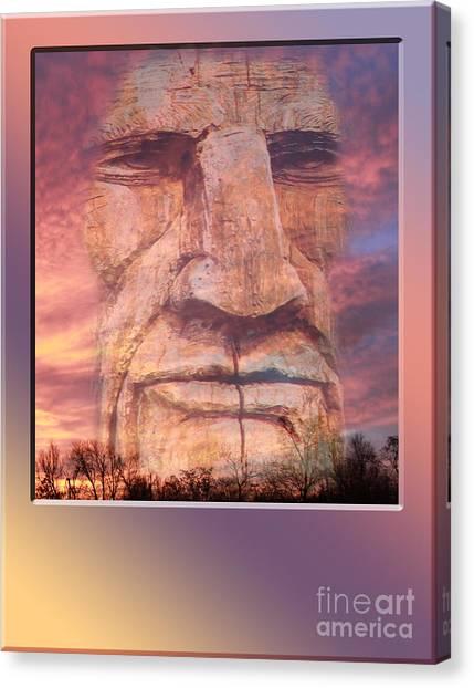 Totum Sunrise Canvas Print