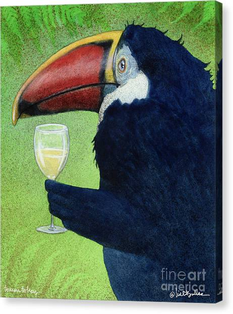 Toucans Canvas Print - Toucan Tokay... by Will Bullas