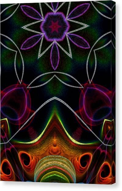 Touch A Star Canvas Print