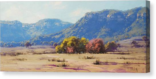 Homestead Canvas Print - Touch Of Autumn  by Graham Gercken