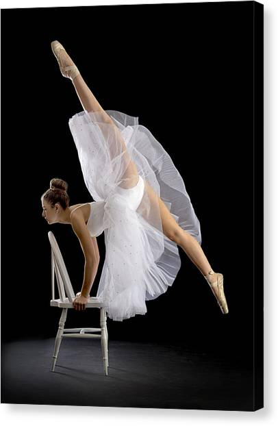 Dance Canvas Print - Touch Of Class by Pauline Pentony Ba