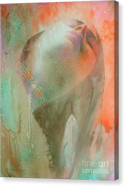 Cherokee Canvas Print - Touch Of The Rainbow by Robert Hooper