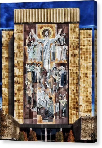 Touchdown Canvas Print - Touchdown Jesus by Mountain Dreams