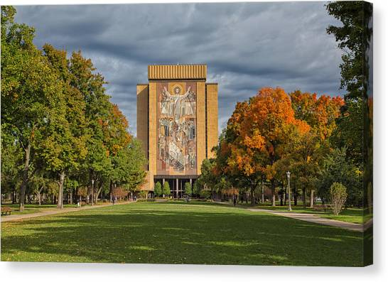 Touchdown Jesus Canvas Print
