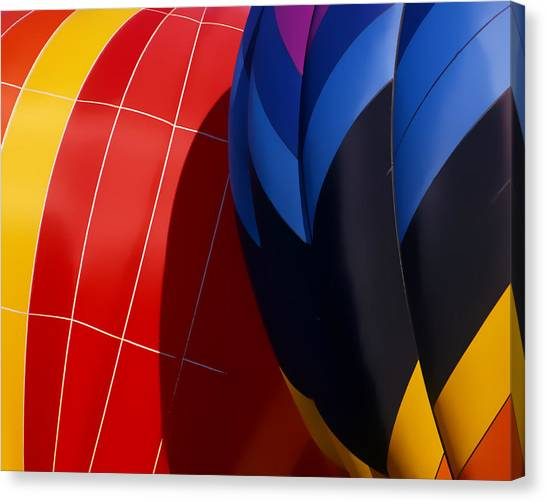 Touching Canvas Print by Ken Evans