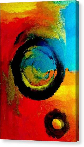 Touring A Parallel Universe Canvas Print