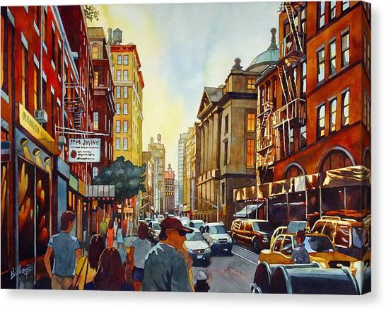 Tourist Season Canvas Print